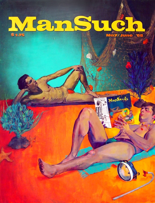 ManSuch Issue 1 by Alessandra Sulpy